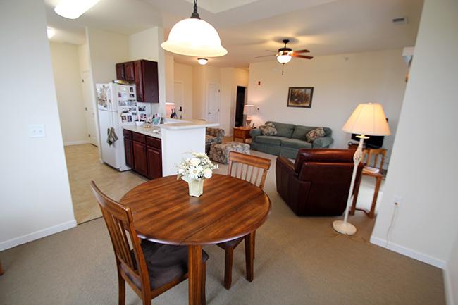Independent Living Bedroom
